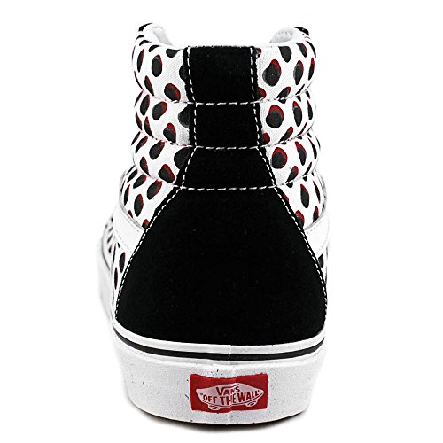 Vans Sk8 Hola Reedición manchado Americana Negro Classic High Top Zapatos Black/Red/Blue