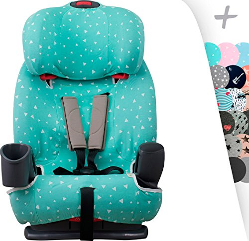 (JANABEBE Janabebé Foam Cover Liner for Graco Nautilus - Car Seat Protector (Mint Sparkles))