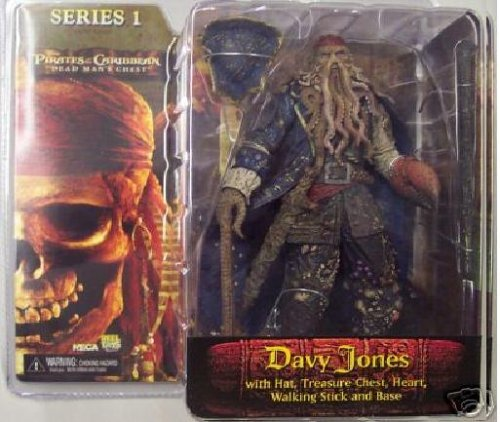 NECA Pirates of the Caribbean Dead Man's Chest Series 1 Action Figure Davy Jones by Pirates of the -