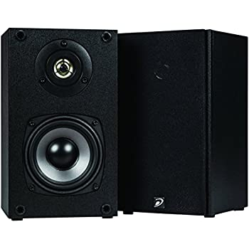 "Dayton Audio B452 4-1/2"" 2-Way Bookshelf Speaker Pair (Black)"