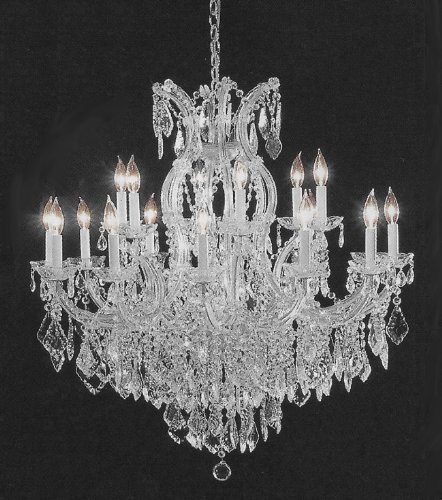 CHANDELIER CRYSTAL LIGHTING EMPRESS CRYSTAL (TM) CHANDELIERS H38″ W37″