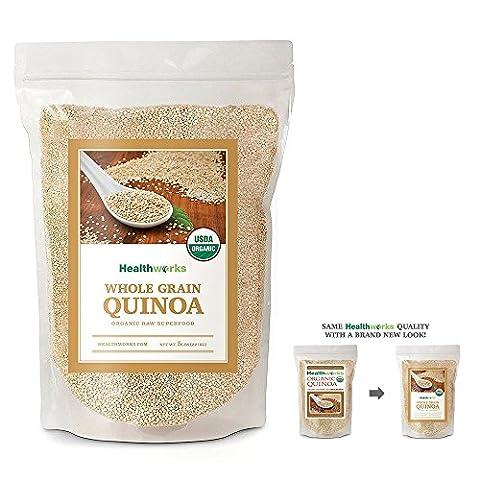 Healthworks Quinoa White Whole Grain Raw Organic, 5lb - Simply Delicious Muffins