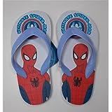 Flip Flops Flip Flops Sea Spiderman Marvel from 27to 34–s09902/3Band Sky Blue