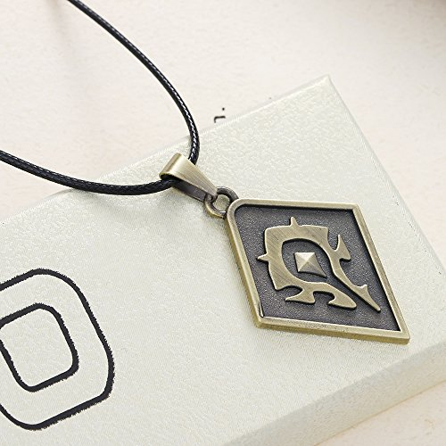 Lureme-WOW-Horde-Logo-Pendant-on-Leather-Cord-Necklace-nl005449