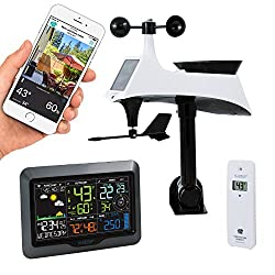 La Crosse Technology V40-pro-int Color Wireless Wi-fi Professional Weather Station