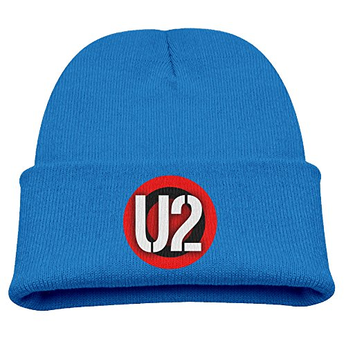 (Big And Little Boys' Toboggan Hat Winter Hats Winter U2 Band Logo Beanie Cap Hat Beanie Hat)