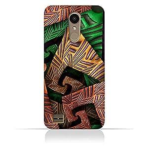 AMC Design LG K10 Fractal Art 04 Design Case - Multi Color