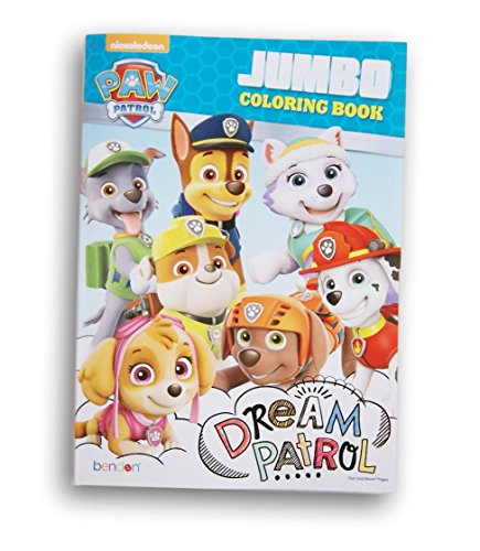 Paw Patrol Dream Patrol Coloring and Activity Book