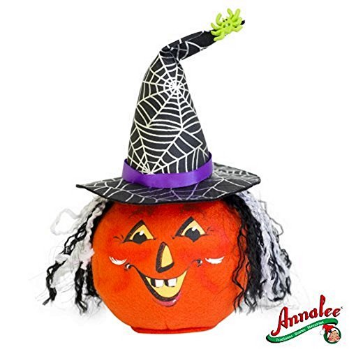 2012 Annalee Dolls 7 Witch Jack O' Lantern Ready for Halloween by Annalee -
