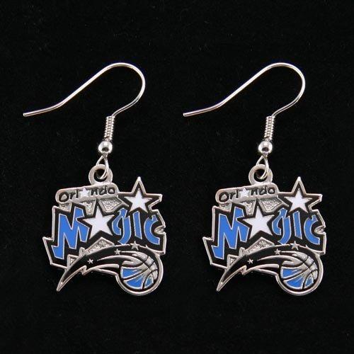 Orlando Magic - NBA Team Logo Dangler Earrings