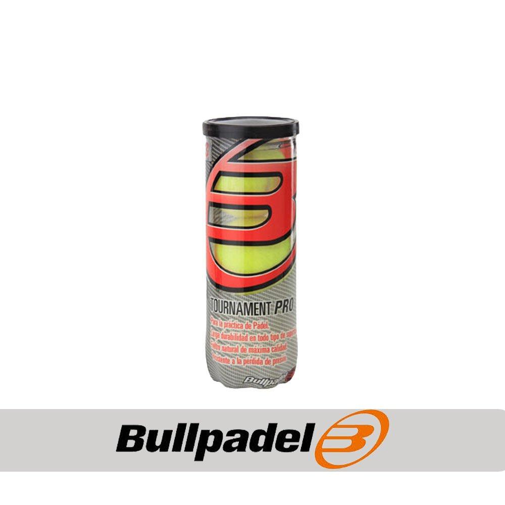 Bull padel 476025 Pelotas Bote, Unisex, Amarillo, Talla ...