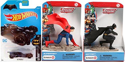 Batman VS Superman Collection Schleich Scenery Batman & Superman Action 4