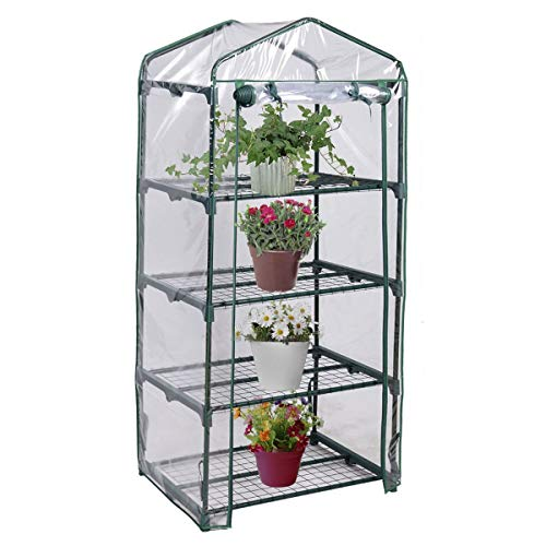 4 Shelves Green House Portable Mini Outdoor Green House Brand New Garden, Brand New and,Rust Resistant by from USA