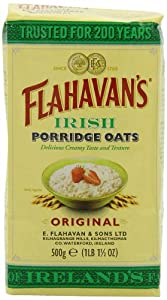 FLAHAVAN'S Irish Porridge Oats, 17.5-Ounce Bags (Pack of 6)