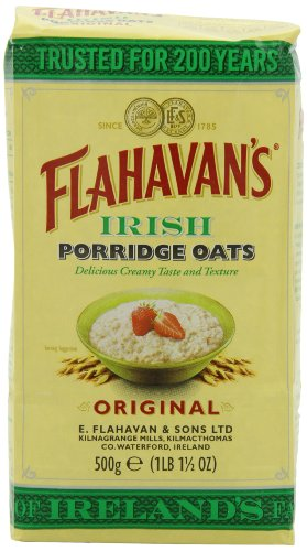 (FLAHAVAN'S Irish Porridge Oats, 17.5-Ounce Bags (Pack of 6))