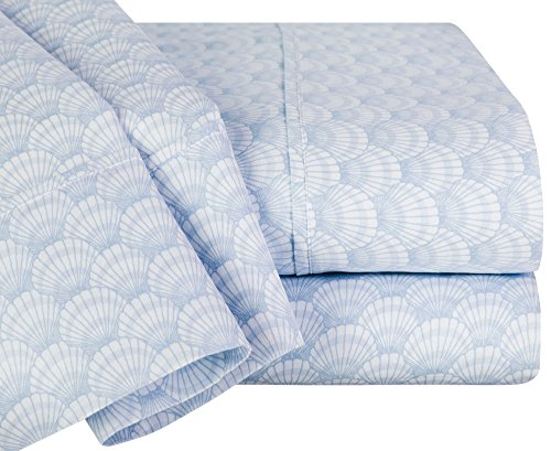 Home Scallop (Raymond Waites Scallop Sheet Set King Blue)