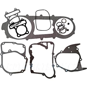 Amazon Com Complete Short Case Engine Gasket Set For Gy6 150 150cc
