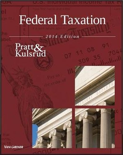 Federal Taxation 2014, 8th Edition