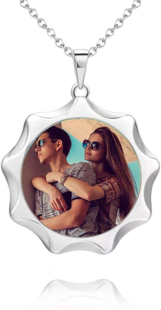 e'w'r'w'erwerwe Personalizado Personalizado Mujer Collar 925 Plata Mujer Collar Cumpleaños Fresco Regalo para Novia/Esposa