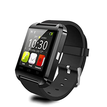 Amazon.com: JIEGEGE Smartwatch, Bluetooth Smart Watch, 1.48 ...