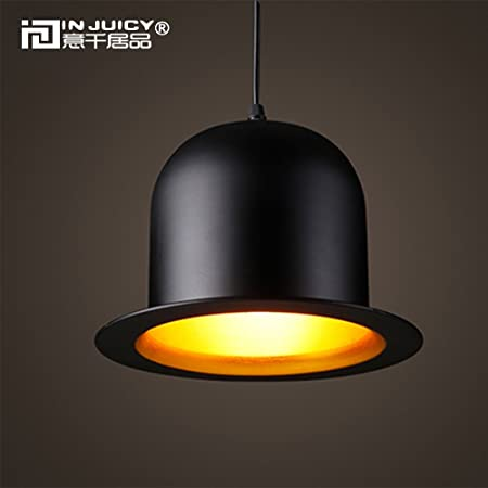 a3ebcf4cdfa Injuicy Lighting Modern Aluminum Top Hat Jeeves   Wooster E27 Led Pendant  Hanging Lights Lamps American