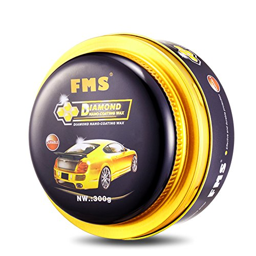 FMS Shiny Polishing Carnauba Paste Car Wax, Car Care, 10.6 oz