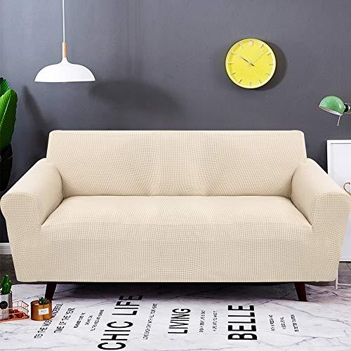 SearchI Fundas de Sofás 3 Plazas,Tejido Jacquard de poliéster y Cubre Sofa Universal Cubierta de Muebles Elegante y Duradera Protector para Sofá ...