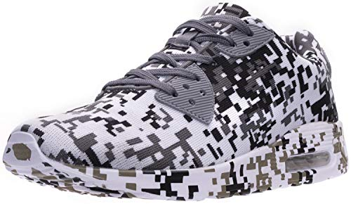 WHITIN Men's Camo Lifestyle Sneakers - Pixel Inspired