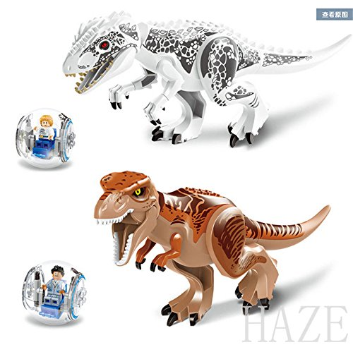 [Mini Figures Building Toys Gray Masrani Indominus Rex Tyrannosaurus Rex] (Legend Lord Of Darkness Costume)