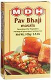 MDH Pav Bhaji Masala (Spice Blend for Vegetables), 3.5-Ounce Boxes (Pack of 10)