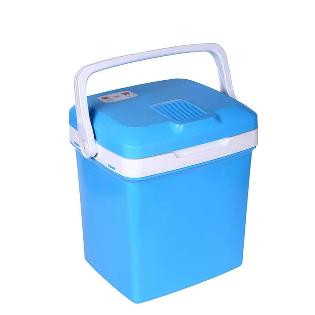 Lcxligang 26L Car Refrigerator, Portable Small Refrigerator Student Dormitory Refrigerator Car Home Dual-use Heating and Cooling Box