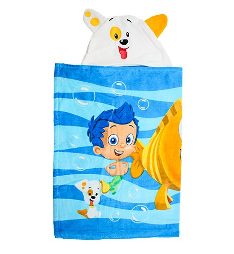 Bubble Guppy Puppy Hooded (Puppy Hooded Bath Towel)