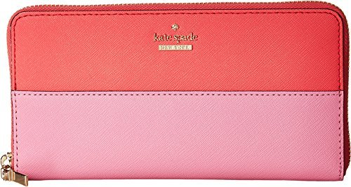 Kate Spade New York Women's Cameron Street Lacey Wallet, Bright Flamingo Multi, One Size by Kate Spade New York