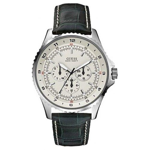 Guess Reloj Análogo clásico para Hombre de Cuarzo con Correa en Cuero W11172G3: Amazon.es: Relojes