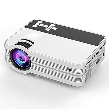 MQQ HD portátil 3D Mini proyector de 4500 lúmenes vídeo 1920x1080 ...