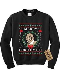 Merry Chrithmith Chirithmith Mike Tyson Ugly Christmas Sweater Unisex Sweatshirt