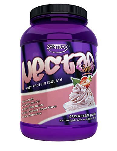Nectar Sweets Whey 209 lbs Strawberry Mousse