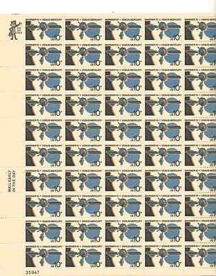 mariner-10-venus-mercury-sheet-of-50-x-10-cent-us-postage-stamps-scott-1557