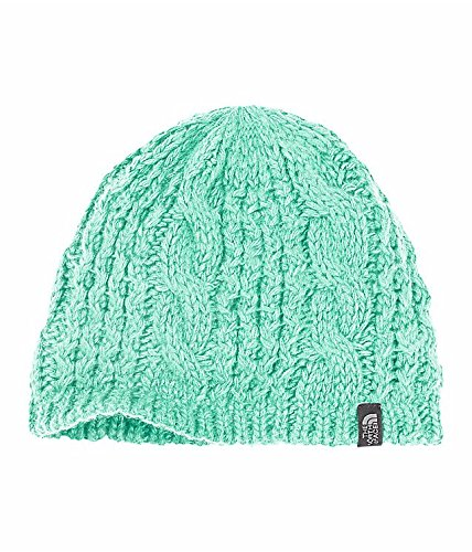 North Face Women Hats (The North Face Cable Minna Beanie - Women (Ice Green))