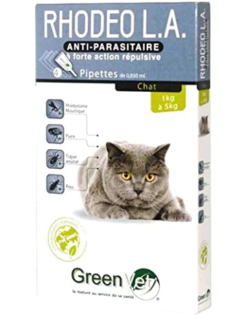GREENVET Rhodeo L.A Gato 4 pipetas