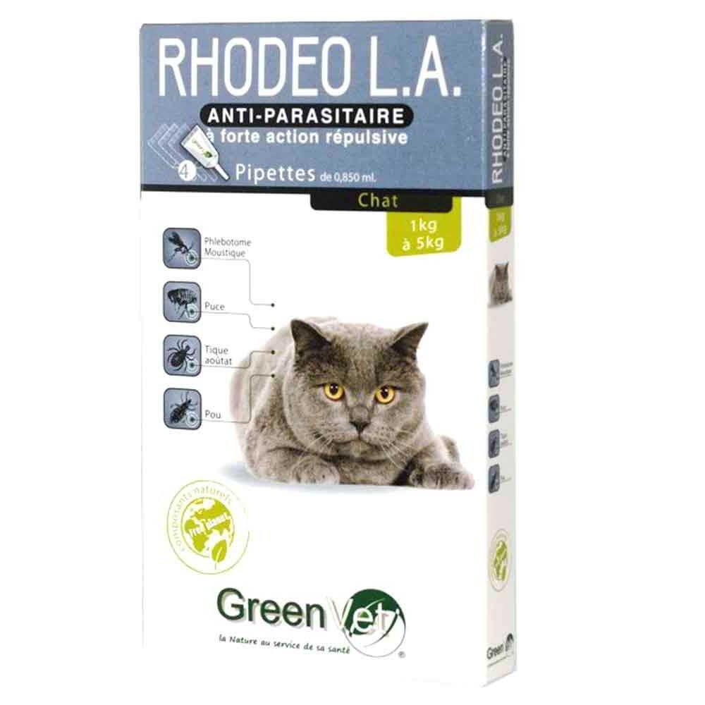 Rhodeo L.A Chat 4 pipettes Greenvet