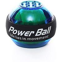 Sonolife - Bola Entrenadora de Muñeca y Antebrazo Generador de Fuerza y Resistencia con Luz LED