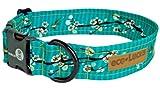 """eco-Lucks Dog Collar, Hong Kong Sea, Large 15"""" x 24"""""""