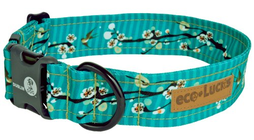 "eco-Lucks Dog Collar, Hong Kong Sea, Small 10"" x 15"""