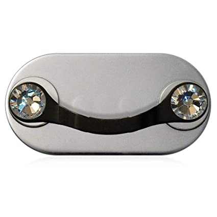 MAG-B soporte magnético para gafas (acero inoxidable negro ...