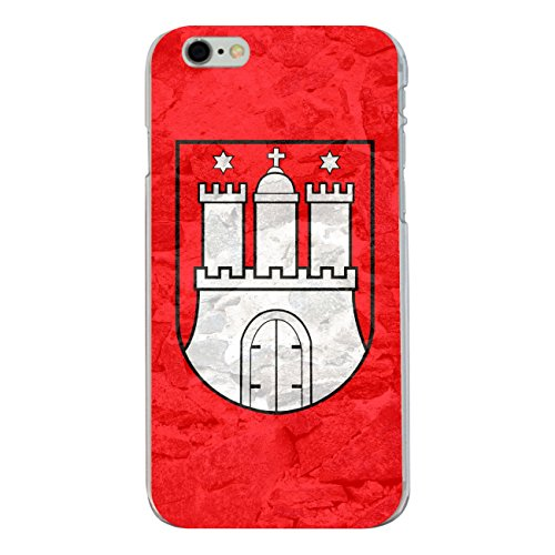 "Disagu Design Case Schutzhülle für Apple iPhone 6s Plus Hülle Cover - Motiv ""Hamburg"""