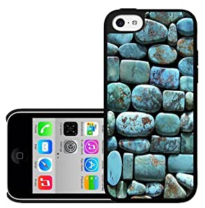 Pretty Turquoise Rocks Hard Snap on Case (iPhone 5c)