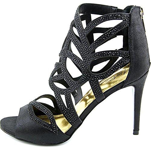 Thalia Sodi Womens Serena Open Toe Formal Strappy Sandals Black J6IAyvXui