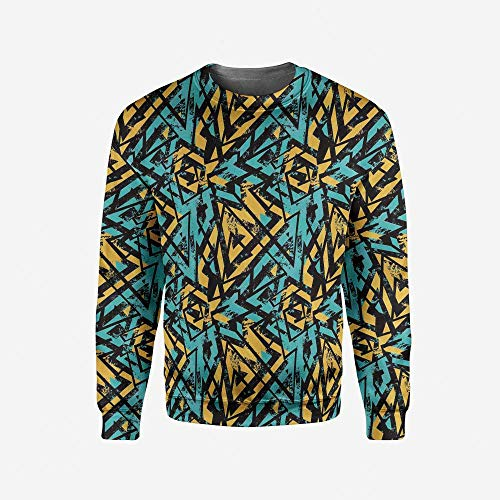 Mens Africa Pullover Sweater by iPrint