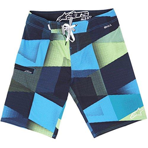Wedging Board - Alpinestars Men's Wedging Boardshort, Blue, 30